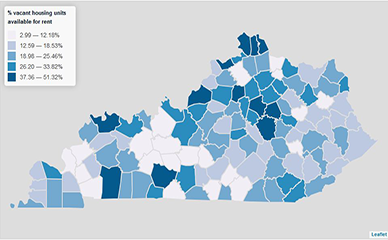 Vacant Housing Units in Kentucky